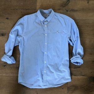 Catch Surf Striped Woven Button Down Shirt